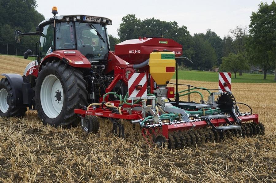 S 6 Zinkensämaschine Bildquelle Steyr Traktoren St. Valenti